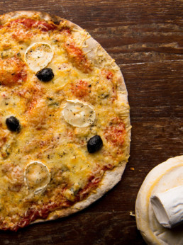 Pizza 4 Fromages Le Pain du Gone